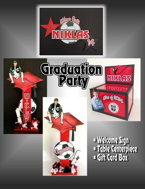 graduation centerpieces