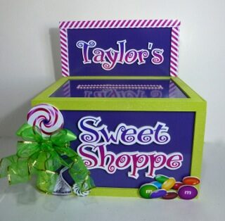 sweet shop gift card box