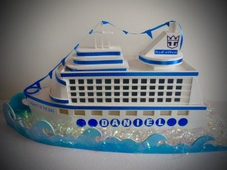Bar Mitzvah Gift Boxes Party Decorations Signs And Centerpieces - Cruise ship centerpieces