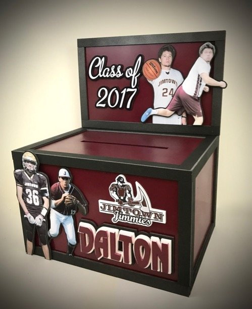 graduation gift card box class of 2017
